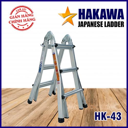Thang nhôm gấp chữ a Hakawa Hk43