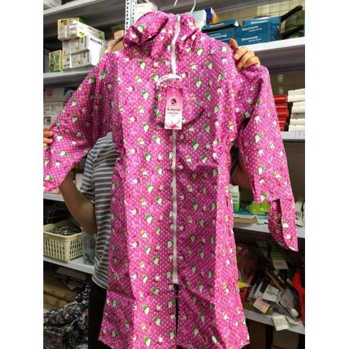 Áo choàng chống nắng bé gái