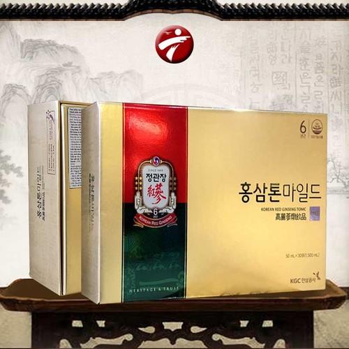Nước Uống Hồng Sâm Trẻ Em Dạng Gói Cao Cấp Chính Phủ KGC Cheong Kwan Jang Tonic Mild Hộp 30 Gói