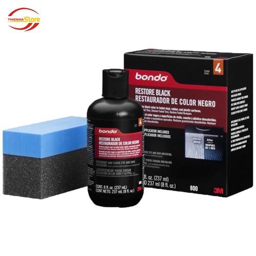 Dung Dịch Phục Hồi Nhựa Đen 3M™ Bondo Restore Black 237ml - 11289248 , 16212155 , 15_16212155 , 380000 , Dung-Dich-Phuc-Hoi-Nhua-Den-3M-Bondo-Restore-Black-237ml-15_16212155 , sendo.vn , Dung Dịch Phục Hồi Nhựa Đen 3M™ Bondo Restore Black 237ml