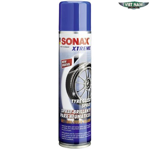 Xịt Bóng Lốp Dạng Ướt - Sonax Xtreme Tyre Gloss Spray Wet Look 400ml