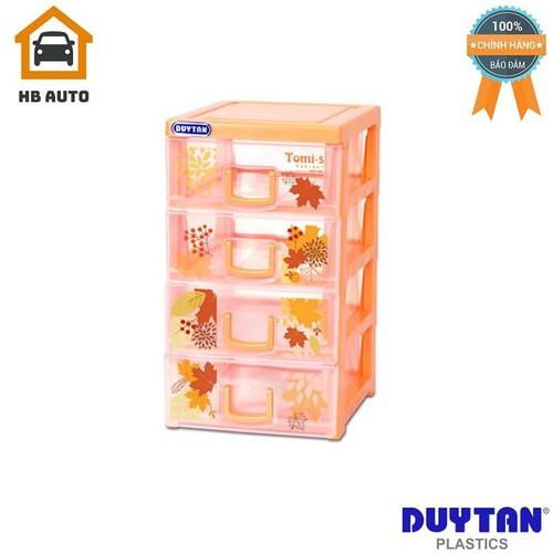Tủ nhựa Duy Tân Tomi-S 4 ngăn – Đủ màu 15,5 x 19 x 27,5 cm No.1136-4