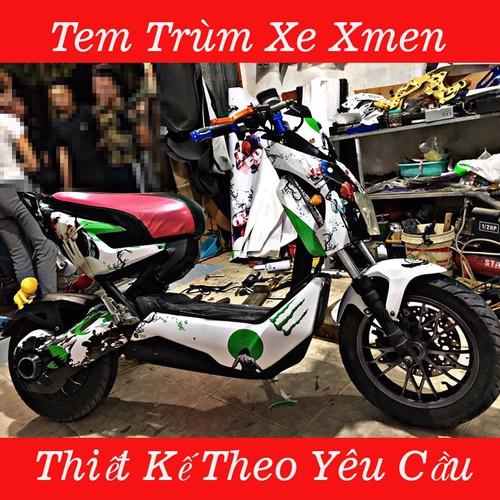 Tem Trùm Xe Điện Xmen - 7893529 , 16209621 , 15_16209621 , 350000 , Tem-Trum-Xe-Dien-Xmen-15_16209621 , sendo.vn , Tem Trùm Xe Điện Xmen