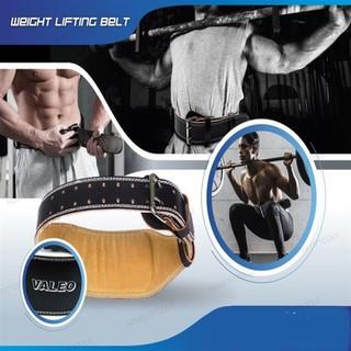 Đai lưng cứng VALEO hỗ trợ tập tạ ,tập gym ,tập thể hình Đai lung da bò cao cấp - đai lưng cứng da valeo thumbnail