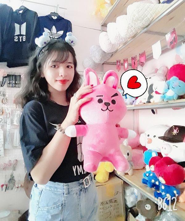 Gấu Bông Bt21- Doll Cookky 35cm 1