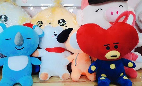 Gấu Bông Bt21- Doll Cookky 35cm 7
