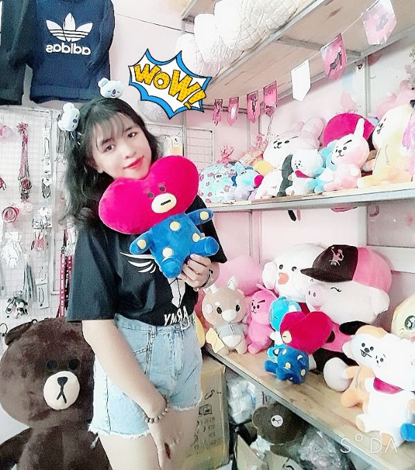 Gấu Bông Bt21- Doll TaTa 35cm 5