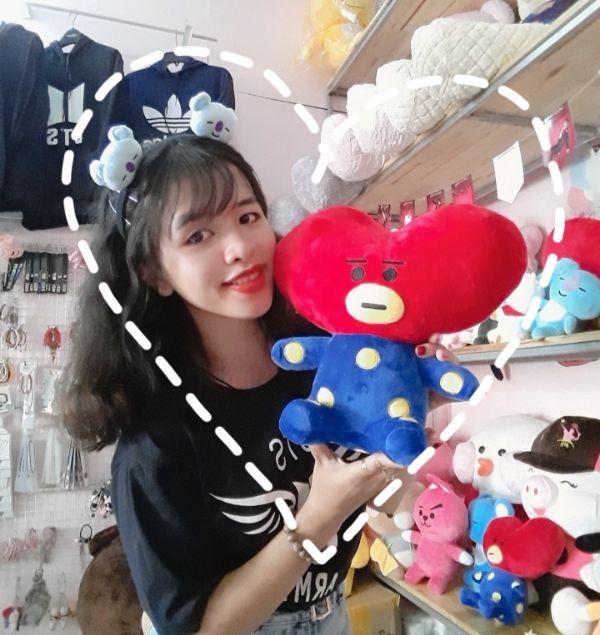 Gấu Bông Bt21- Doll TaTa 35cm 3