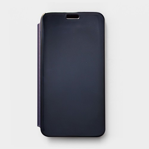 Bao da Samsung Galaxy J7 Prime Clear View xanh đen