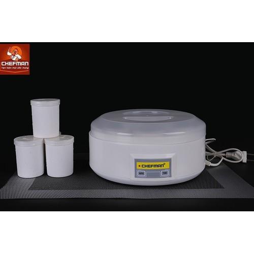 Máy làm sữa chua Chefman 8 cốc - CM 302N