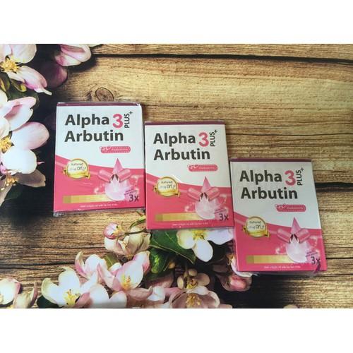 Viên Kích Trắng Alpha Arbutin 3 Plus Thái Lan - 7563409 , 16213188 , 15_16213188 , 55000 , Vien-Kich-Trang-Alpha-Arbutin-3-Plus-Thai-Lan-15_16213188 , sendo.vn , Viên Kích Trắng Alpha Arbutin 3 Plus Thái Lan