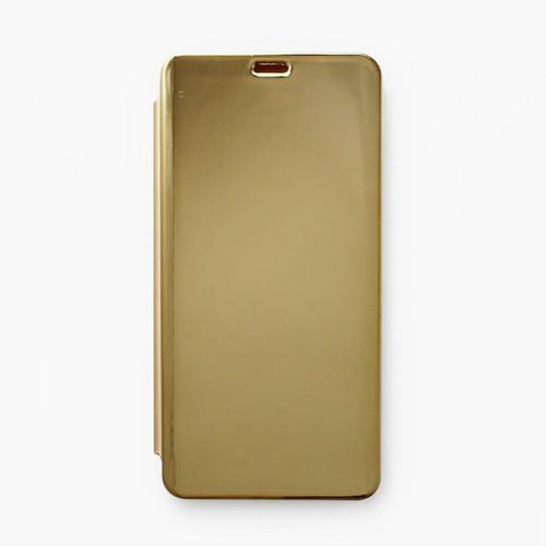 Bao da Xiaomi Redmi Note 5 Pro Clear View vàng