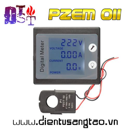 Công tơ điện tử PZEM-011 AC 80 - 260V 100A Cuộn kẹp