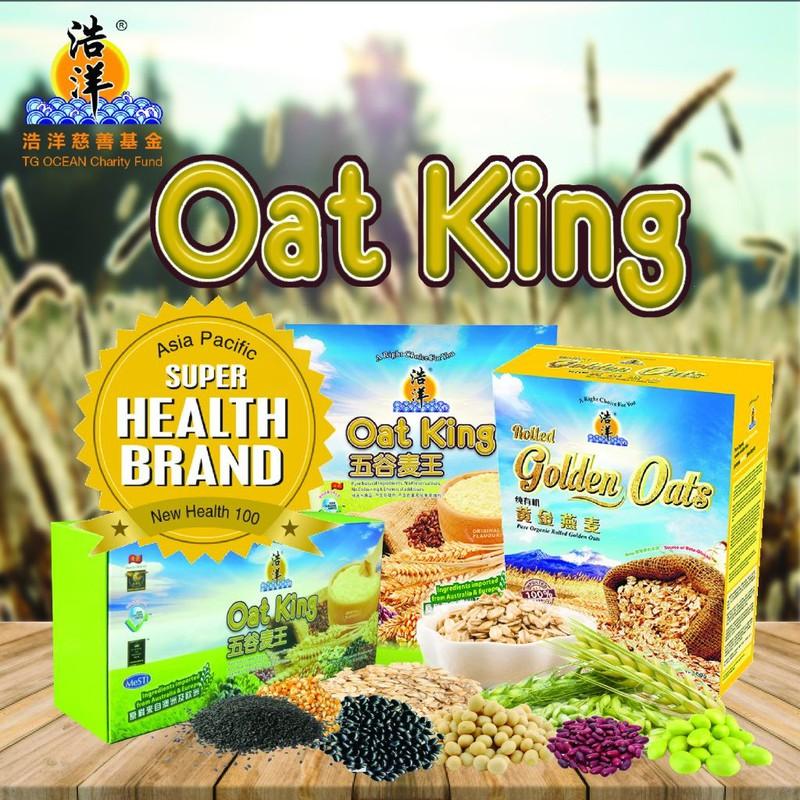 Vua Ngũ Cốc OatKing Original Flavor 600gr 2
