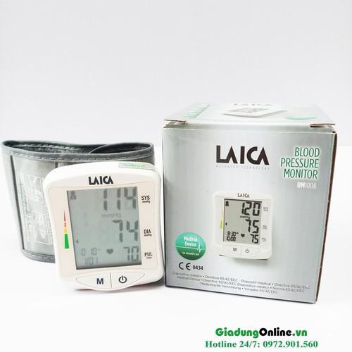 Máy đo huyết áp cổ tay điện tử Laica BM1006 - 11295149 , 16227487 , 15_16227487 , 895000 , May-do-huyet-ap-co-tay-dien-tu-Laica-BM1006-15_16227487 , sendo.vn , Máy đo huyết áp cổ tay điện tử Laica BM1006