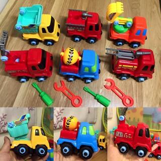 Bộ 6 xe công trình cho bé - HGX510 thumbnail