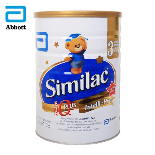 Sữa bột Similac IQ 3 HMO hương vani 1.7kg - 10582037 , 16233933 , 15_16233933 , 789000 , Sua-bot-Similac-IQ-3-HMO-huong-vani-1.7kg-15_16233933 , sendo.vn , Sữa bột Similac IQ 3 HMO hương vani 1.7kg