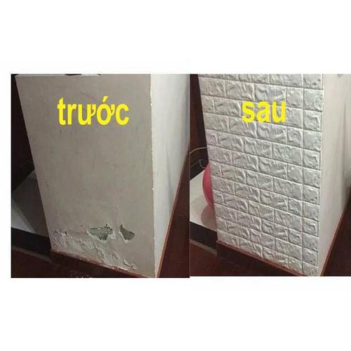 Xốp Dán Tường Giả Gạch- Xốp Dán Tường 3D [1tấm]