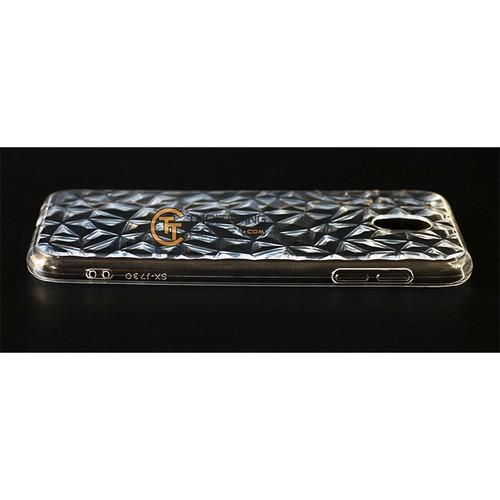 Ốp lưng SamSung Galaxy J7 Pro, J730 3D kim cương silicone dẻo trong