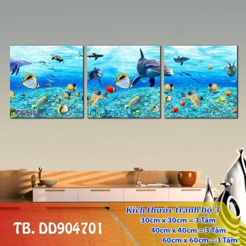 Tranh treo tường - tranh đáy đại dương