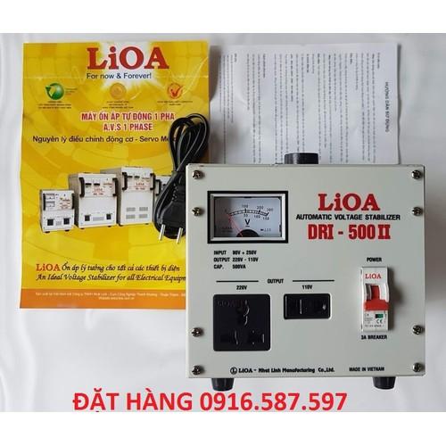 LIOA DRI-500II 90V-250V ỔN ÁP 0,5KVA|LIOA NHẬT LINH 0,5KW - 7564742 , 16218386 , 15_16218386 , 1000000 , LIOA-DRI-500II-90V-250V-ON-AP-05KVALIOA-NHAT-LINH-05KW-15_16218386 , sendo.vn , LIOA DRI-500II 90V-250V ỔN ÁP 0,5KVA|LIOA NHẬT LINH 0,5KW