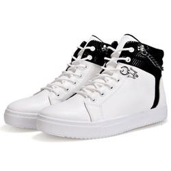 Giày Cao Cổ Nam Sneaker, Giày Nam Cao Cổ Buộc Dây Vải Nhung Mềm Mịn Thoáng Khi Phom Ôm Chân Chuẩn Size Từ 39 Đến 43