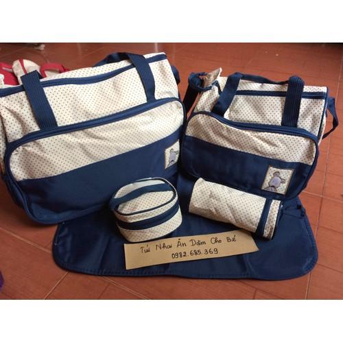 Set túi đựng đồ 5 chi tiết cho mẹ và bé - 11293209 , 16222705 , 15_16222705 , 230000 , Set-tui-dung-do-5-chi-tiet-cho-me-va-be-15_16222705 , sendo.vn , Set túi đựng đồ 5 chi tiết cho mẹ và bé