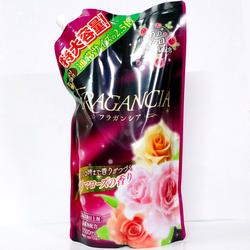 Nước xả vải đậm đặc Fragancia hương hoa hồng Nhật Bản 1500ml