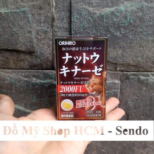 Viên Uống Ngăn Ngừa Tai Biến Orihiro Nhật Bản 60 Viên