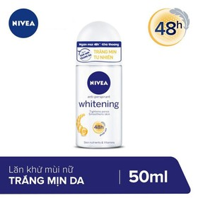 Lăn Ngăn Mùi NIVEA Whitening Roll-on 50ml - 4005808364855