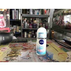 Lăn ngăn mùi nước hoa Nivea hương sen thanh mát chai 50ml - lotus