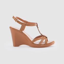 Bitis Sandal Da Thật Nữ Gosto Lauren B GPW000400NAU Nâu