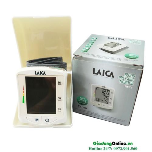 Máy đo huyết áp cổ tay điện tử Laica BM1006 - 11205211 , 16228496 , 15_16228496 , 895000 , May-do-huyet-ap-co-tay-dien-tu-Laica-BM1006-15_16228496 , sendo.vn , Máy đo huyết áp cổ tay điện tử Laica BM1006