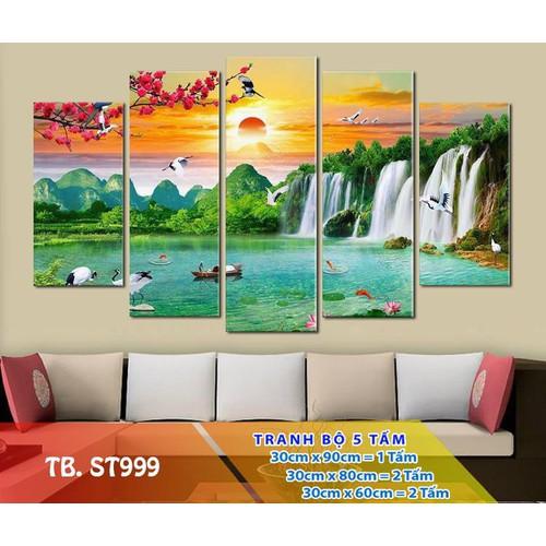 Tranh treo tường -  tranh sơn thủy