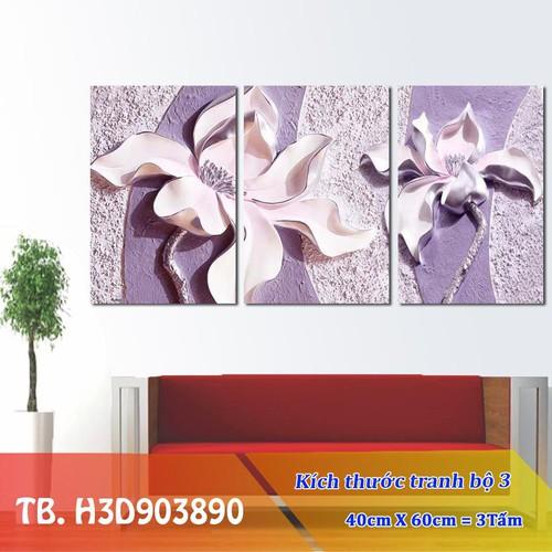 Tranh treo tường - Tranh hoa 3d