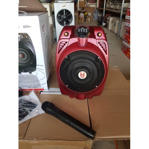 loa karaoke BD x6 bluetooth tiếng to bass hay