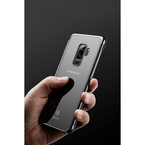 Ốp lưng Baseus cứng viền màu SamSung Galaxy S9 plus