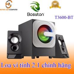 Loa vi tính 2.1 Bosston T3600-BT tích hợp Bluetooth Usb thẻ nhớ âm thanh mạnh mẽ sôi động như ở bar VSP phân phối