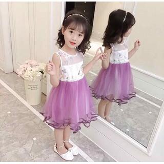 Váy Đầm Bé Gái Công Chúa đâm dự tiệc đầm công chúa cho bé gái Cao Cấp đầm elsa cho bé gái