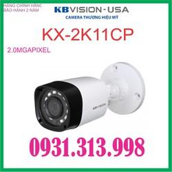 CAMERA HDCVI THÂN KBVISION KX-2K11CP 4.0MP