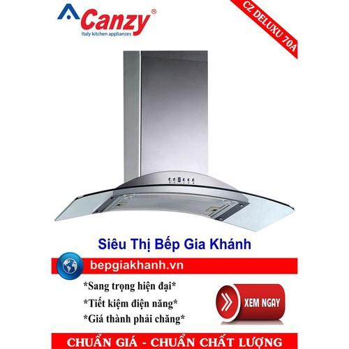 Máy hút mùi nhà bếp dạng kính cong 70cm Canzy CZ DELUXE 70A - 7910038 , 16254403 , 15_16254403 , 4265000 , May-hut-mui-nha-bep-dang-kinh-cong-70cm-Canzy-CZ-DELUXE-70A-15_16254403 , sendo.vn , Máy hút mùi nhà bếp dạng kính cong 70cm Canzy CZ DELUXE 70A