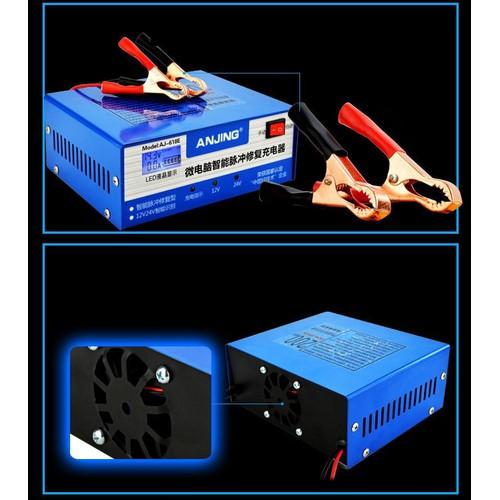 Sạc bình ắc quy tự động 12V 24V - 200Ah có màn hình LED hiển thị - Sạc có tạo xung khử sunfat - 11305273 , 16252827 , 15_16252827 , 445000 , Sac-binh-ac-quy-tu-dong-12V-24V-200Ah-co-man-hinh-LED-hien-thi-Sac-co-tao-xung-khu-sunfat-15_16252827 , sendo.vn , Sạc bình ắc quy tự động 12V 24V - 200Ah có màn hình LED hiển thị - Sạc có tạo xung khử sun