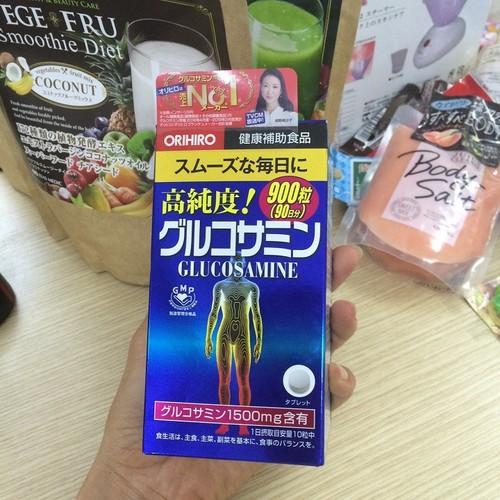 Viên uống hỗ trợ xương khớp Glucosamine Nhật bản hộp 900 viên - glucosamin Nhật