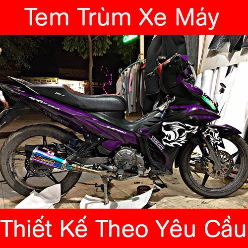 Tem Trùm Exciter 135 - 4695467 , 16247563 , 15_16247563 , 350000 , Tem-Trum-Exciter-135-15_16247563 , sendo.vn , Tem Trùm Exciter 135