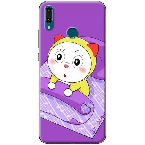 Ốp lưng nhựa dẻo Huawei Y9 2019 Doraemi thức giấc