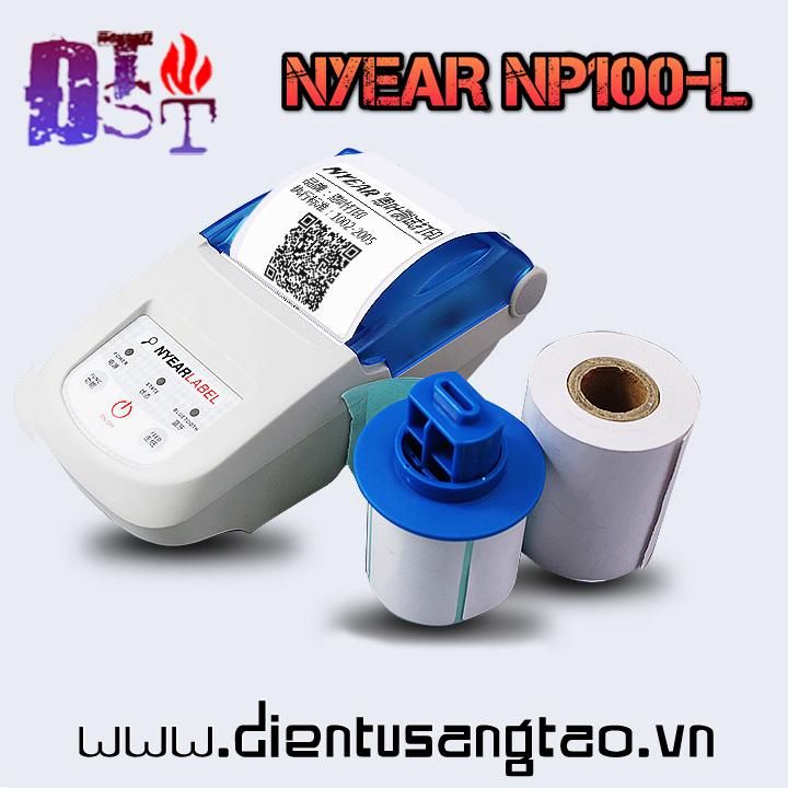 Máy in mã vạch di động NYEAR NP100-L
