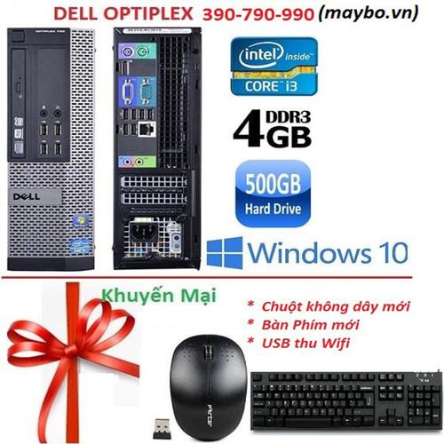 Máy Bộ DELL Optiplex 390-790-990SFF__i3_4G_500G__BẢO HÀNH 12 Tháng 1 đổi 1