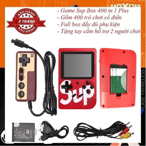 [TẶNG GIẮC CẮM TIVI 35K] MÁY CHƠI GAME SUP BOX 400 IN 1 PLUS TẶNG 1 TAY CẦM HỖ TRỢ 2 NGƯỜI CHƠI - 11300777 , 16241978 , 15_16241978 , 290000 , TANG-GIAC-CAM-TIVI-35K-MAY-CHOI-GAME-SUP-BOX-400-IN-1-PLUS-TANG-1-TAY-CAM-HO-TRO-2-NGUOI-CHOI-15_16241978 , sendo.vn , [TẶNG GIẮC CẮM TIVI 35K] MÁY CHƠI GAME SUP BOX 400 IN 1 PLUS TẶNG 1 TAY CẦM HỖ TRỢ 2 N