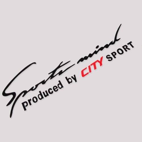 Tem sport mind dán capo xe ô tô City - 4530690 , 16240186 , 15_16240186 , 80000 , Tem-sport-mind-dan-capo-xe-o-to-City-15_16240186 , sendo.vn , Tem sport mind dán capo xe ô tô City