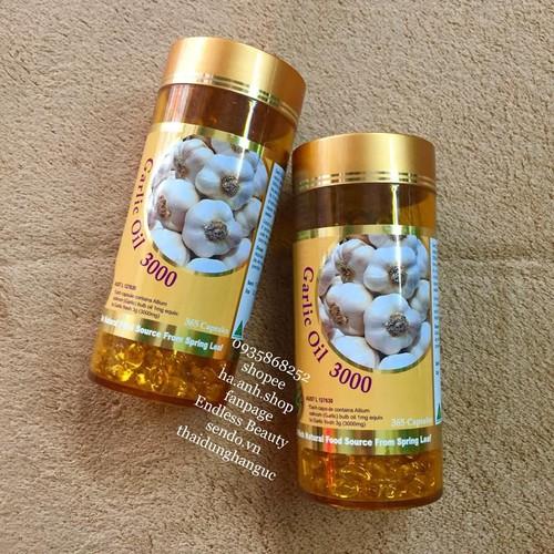 Tinh dầu tỏi Costar Garlic Oil 365 viên